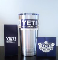 Wholesale Yeti cups oz Rambler Tumbler yeti coolers Yeti colster oz powder coated Insulation Cups coffee Mugs travel stainless steel Mug Tumblers