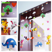 bamboo weaving material - Handmade DIY Door Curtain Hanging Decorative Fabric Non woven Production Package Materials Over years old for girls Toys
