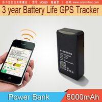 Wholesale Powerbank GPS Tracker Year Long Battery Life with Magnetic Car Tracker