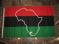 african soccer - Afro American Map African Black Panther Outdoor College Banner Flag X5 Custom America USA Team Soccer College Baseball Flag