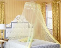 Wholesale New Fashion Circular Mosquito Nets AMVIGOR CM blue or pink the first available delivery the first class quality