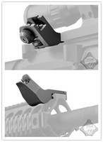 Wholesale CNC Degree Offset Metal Front and Rear Folding Battle sights Stable performance quality hunting Accessories