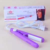 Wholesale Hot Sale Electric Mini Hair Straightener Irons Professional Straightening Irons High Quality Flat Iron DHL Fast Shipping Discount Price