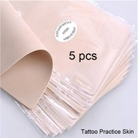 Wholesale Permanent makeup practice skin blank tattoo practice fake skin for needle machine learning training traditional tattoo supplies