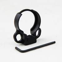 adjustable end wrench - Tactical Adjustable Dual Loop Stock End Plate Sling Attachment Ambidextrous Buffer Tube Adapter Mount Allen Wrench for AR15 M4