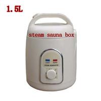 Wholesale 2016NEW steam sauna box Powerful W L sauna khan steam pan evaporator wet steam equipment