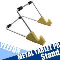 Wholesale New Design Metal Desktop Tablet Stand Holder For iPad Bed Tablet PC Stand Aluminum Adjustable Tablet Holder