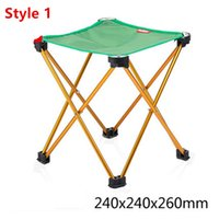 Wholesale Portable Folding Chair Beach Seat Ultra Light Folding Camping Fishing Chair Seat For Outdoor Fish Chair