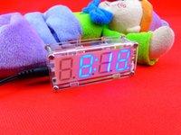 Wholesale DIY LED electronic clock electronic clock production suite suite microcontroller LED digital clock parts