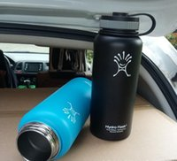 Wholesale DHL SEND oz Hydro Flask water bottles MULTI COLOR options Stainless Steel mugs style thermal insulation