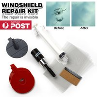 Wholesale 2016 Auto Car Glass Windscreen Windshield For Chip Crack Bullseye DIY Repair Kit MATCC Set of Windscreen Windshield Repair Tool DIY Car Kit