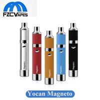 Authentique Yocan Magneto cire Kit 1100mAh Cire Portable Vaporisateur E Cigarette Dab outil avec barre de silicium et bobine magnétique