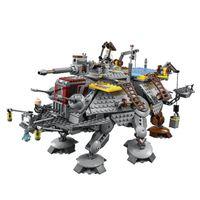 Wholesale New Star Wars general Rex AT TE walking mecha assembled toy bricks
