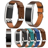 Wholesale New Sport Replacment Leather Bands Straps for Fitbit Charge Smart Bracelet Bands Straps