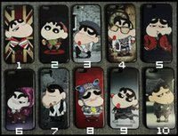Wholesale New small embossed TPU creative Apple iPhone7 mobile phone shell custom cartoon painted S protective cover soft shell