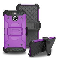 Wholesale For LG Aristo Metropcs LV3 Stylo stylus HTC Bolt Evo galaxy J3 J3 Emerge J327P armor case Holster Clip