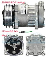 Wholesale air conditioning compressor Sanden SD7H15 ROT Vertical mm G V