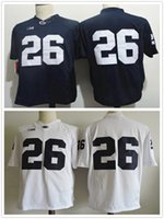 Wholesale Cheap New Arrival Penn State Nittany Lions Saquon Barkley Joe Paterno College Football Jerseys Stitched S XL
