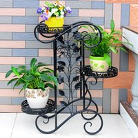 Metal outdoor metal planter - Elegant European Strudy Wrought Iron Plant Stands Potted Plants Ikea Plant Stand Metal Planter Patio Garden Home Outdoor Indoor Decor