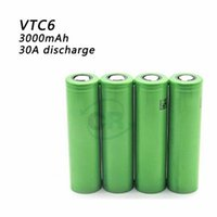 Wholesale 100 Authentic VTC5 from Japan mah A discharge Rechargable Lithium Batteries Crushing fake HE2 HE4 VTC