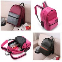backpacks children - Love Pink Women Backpack Secret Shoulder Bags Pink Love High Quality Cute Children School Bags VS For Teenagers Waterproof Lady Bags