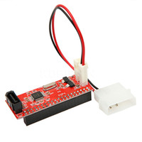 Wholesale PCI inch IDE to DATA pin card Adapter Computer Converter Express Card IDE to SATA with Cable