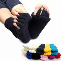 ankle treatment - Massage Toe Socks Yoga Socks Five Fingers Toes Compression Treatment of Bending Deformation for Women Socks