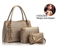 bag lady designs - New women handbags leather handbag women messenger bags ladies brand designs bag bags Handbag Messenger Bag Purse Sets