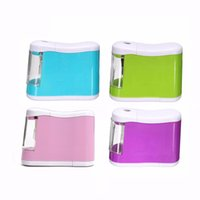 battery pencil sharpener - Desktop Automatic Pencil Sharpener Electric Battery Operated For Kids Stationery School Office Supplies Hot