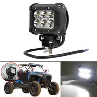 Wholesale 2x W CREE LED LIGHT BAR WORK SPOT LAMP OFFROAD BOAT UTE CAR TRUCK SUV Engineering Light