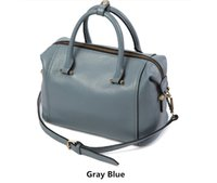 Wholesale 2017 Women Boston Bags Europe and America Fashion Subtle Life Higt Quality Cow Split Leather