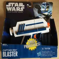 Wholesale Zorn Star Nerf Wars captain rex blaster Hasbro toys ne rf Soft bullet gun toy mperial Stormtrooper arms Boy toys Christmas gift