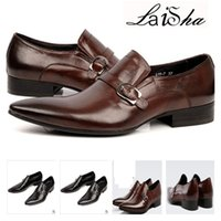basic italian - 2017 Mens Dress Shoes Fashion vintage wingtip carved men oxford shoes genuine leather italian formal business male shoe basic flats