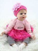 Wholesale new hot sale lifelike reborn baby doll baby dolls Christmas gift for girl baby