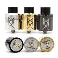 Replaceable 3.5ml Metal Recoil RDA High Quality Clone E Cigarette Vaporizers 24mm RDA Rebuildable Dripping Atomizer With Extra Tube Fast Shipping