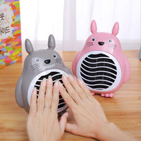 Wholesale 2017 Newest Cute Cartoon Portable Household Electric Heater Fan Heater Mini Heater Hand Warmer Small Household Appliances
