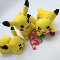 baby doll teddies - 22cm Pikachu Plush Toys Children Gift Cute Soft Toy Cartoon Pocket Monster Anime Kawaii Baby Kids Toy Pikachu Stuffed Plush Doll