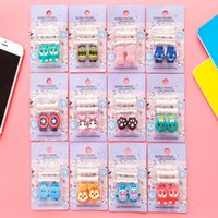 Wholesale Cute cartoon figure USB Data Cable Protector For Apple iphone android Data Cable Earphone Accessories