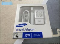 Wholesale 2016 High Quality V A V A Adaptive Fast Charging Travel Wall Charger m micro usb cable For Samsung Galaxy S6 S7 Edge Plus Note