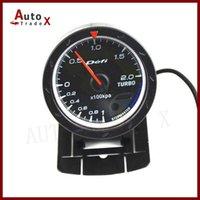 Wholesale quot MM DF Advance CR Gauge Meter Boost Turbo Gauges Black Face