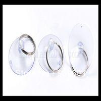 Wholesale 35mm small suction cup brief glass transparent plastic sucker repair tool