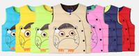 Wholesale 2017 new children s clothing Children vest Boy Girl Cartoon Warm vest Winter Baby Kids Clothing Outwear Waistcoat