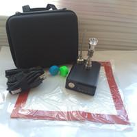 Wholesale portable E nail kit electric nail dab PID TC complete kit electronic dabbing nail E Nail D nail Titanium domeless V v w digital
