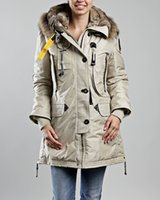 Wholesale Parajumpers Kodiak Masterpiece Ladies Parka Down Coat With Real Fur Hood Size xs XL