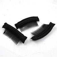 Wholesale New Hair Natural Wig Insert Comb Bow Comb Bun Hair Flaxen Hair Tool Braide Party Magic Styling Wig Plug Comb Headdress Bang Comb