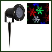 ac black light - Outdoor Led Christmas Lights Waterproof Black Snowflake Landscape Projector for Garden Lawn and Holiday Decoration multicolor