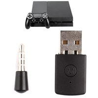 Wholesale PS4 Game Latest Version Bluetooth Dongle PS4 USB Adapter for PS4 Any Bluetooth Speaker or Compatible PS3 PS2
