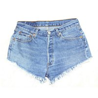 Wholesale hot sale young girl jeans short basic pockets denim pant casual street wear sizes leg