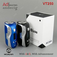 Wholesale Original Hcigar VT250 DNA250 BOX MOD evolv chip vs lost vape therion w triade dna200 dna250