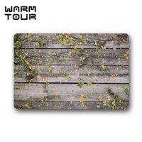 american wood floors - WARM TOUR Wood boards leaflets leaves texture non slip Doormat Indoor Outdoor Floor Bathroom Mat